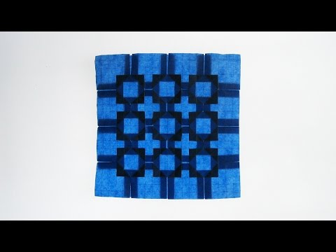 Origami Instructions: Five-and-Four Tessellation (Eric Gjerde)