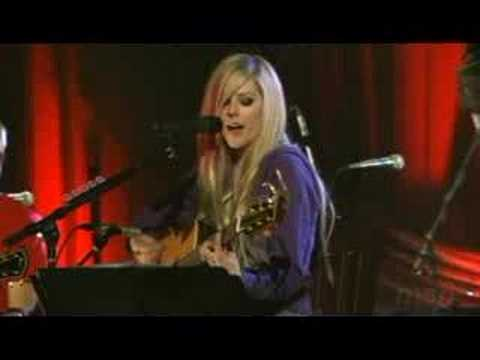 Avril Lavigne - Don't Tell Me (acoustic) Live video