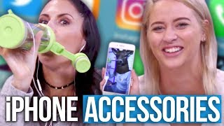 5 Weird AF iPhone Accessories From Amazon?! (Beauty Break)
