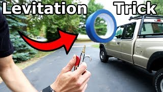 Levitating Tools Trick (screwdriver, roll of tape, and more)