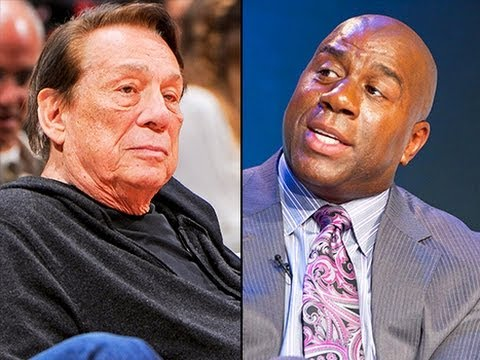 Re: Donald Sterling On Magic Johnson: