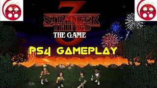 Stranger Things 3 The Game PS4 Gameplay