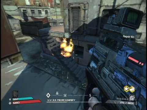 Borderlands: Siren Gameplay (SMG+Sniper)