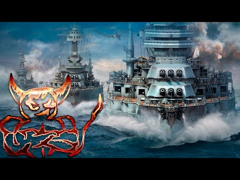 Download video World of Warships - раки проигрывают ботам.
