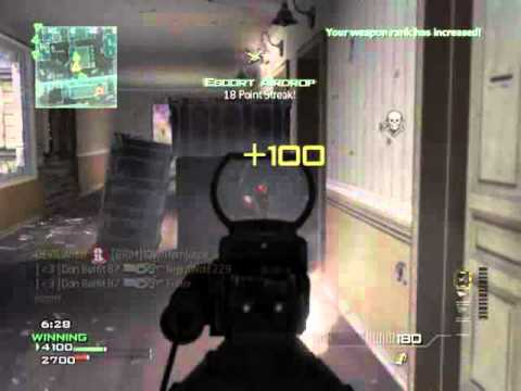 [MW3] Broken 4 Man Followed by QUAAAADDDD!!! P90 Feed