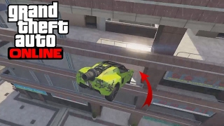 GTA 5 TOP 10 STUNTS ! ROCKET VOLTIC ULTRA PRECISION !
