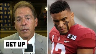 Nick Saban: QB Tua Tagovailoa is learning to stop forcing big plays | Get Up