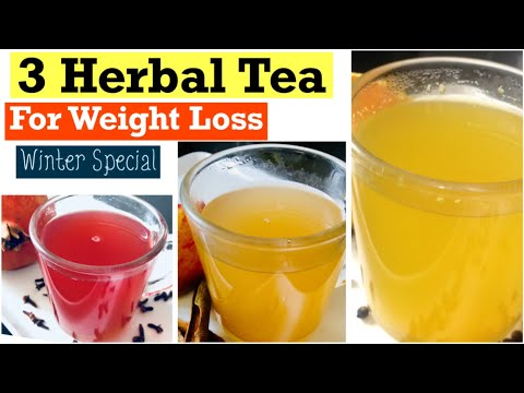 Homemade Herbal tea For Weight Loss | Healthy Fruits tea to Lose Weight | In Hindi