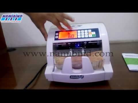 Namibind Cash Counting Machine with Fake note Detector