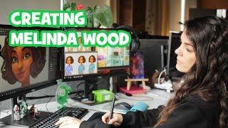 Creating Melinda Wood