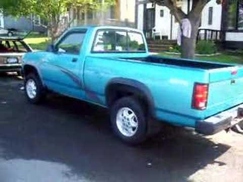 1995 Dodge Dakota Youtube