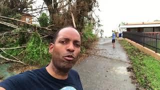 El paso del huracán María por Utuado, Puerto Rico