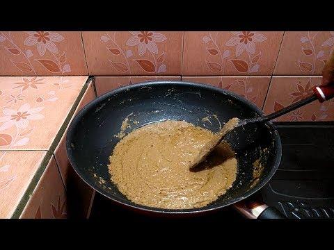 Resep bumbu kacang sate madura