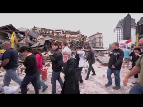 1 Minute After The Christchurch Earthquake - 22 February 2011 - 182 confirmed dead