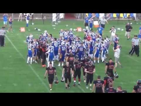 Bratislava Monarchs vs  Budapest Wolves 2015.07.04