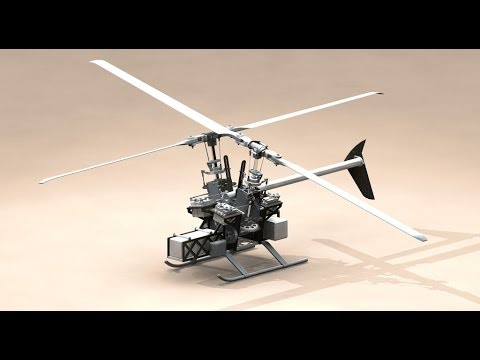 ramo Intermeshing Rotor Helicopter Video Concept