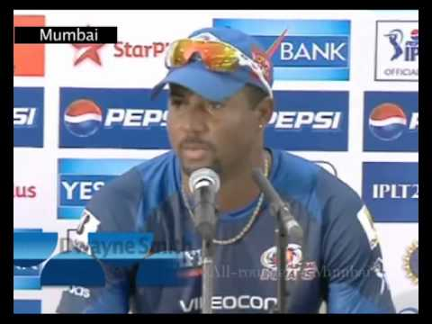 Mumbai Indians v Royal Challengers Bangalore RCB, IPL 6 2013 T20 Cricket: Dwayne Smith pre match