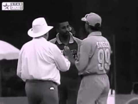Cricket Fights  Sourav Ganguly Vs Russell Arnold   India Vs Sri Lanka Final Match Videos video