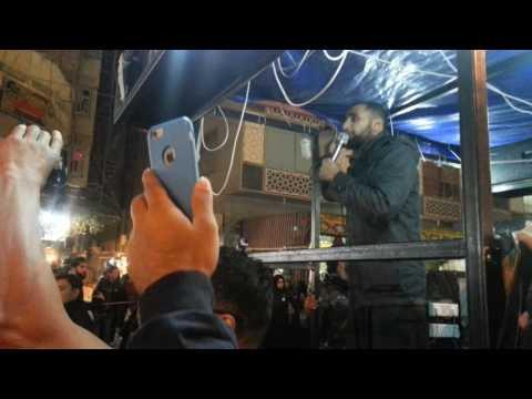 ' I Left My Heart in Karbala '! Ammar Nashed. English Noha. The streets of Karbala. Arba'een .