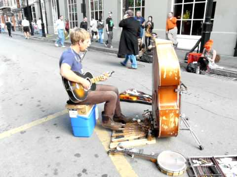 Best New Orleans street musician I've seen Music Videos