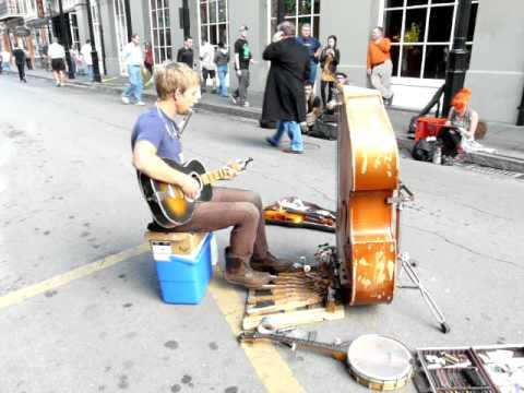 Best New Orleans street musician I