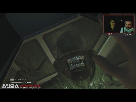 AngryJoe Plays Alien: Isolation!
