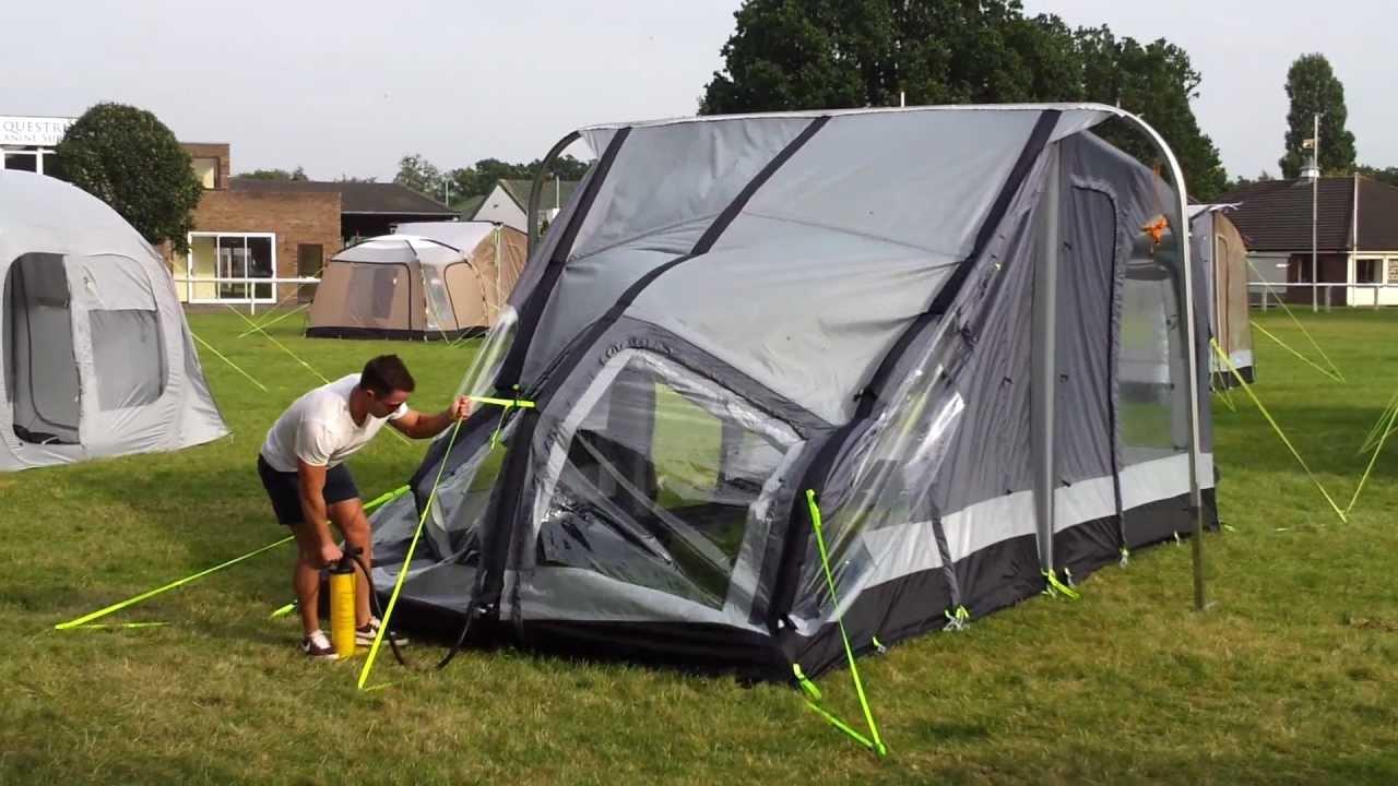Kampa Rally Air Inflatable Caravan Awning Youtube