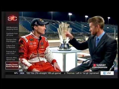 ESPN's Sunday Conversation with 2014 NASCAR Sprint Cup Series Champion Kevin Harvick