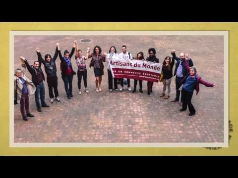 2016 World Fair Trade Day Global Celebrations - Human Chains of Agents for Change