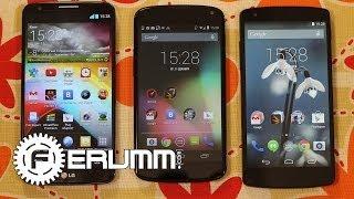 Nexus 5 vs LG G2 vs Nexus 4 подробное сравнение. Все плюсы и минусы от FERUMM.COM