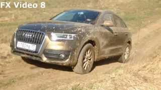 Audi Q3 off road test part-3