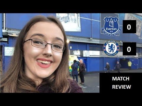 Everton 0-0 Chelsea  Review  Live from Goodison Park!