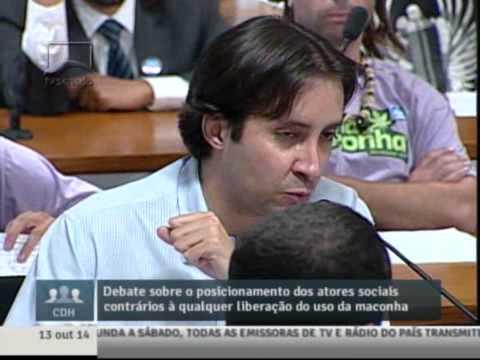 SUG8 Fala de ALEXANDRE DE CASTRO  na 6° audiência sobre maconha no senado