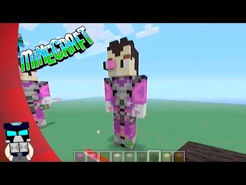 Tutorial pixel art 3D Vegetta777 skin Minecraft en español (como hacer skin pixel art de vegetta777)