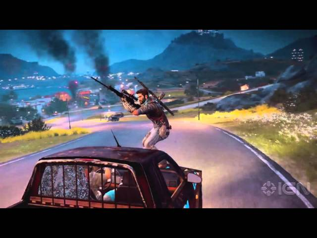Just Cause 3 On a Mission Official Trailer