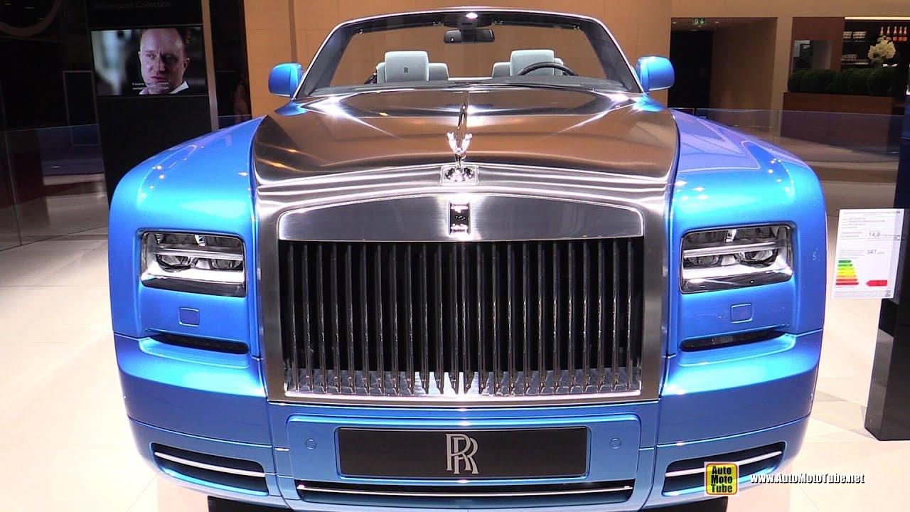 2015 Rolls Royce Phantom Drophead Coupe Water Speed