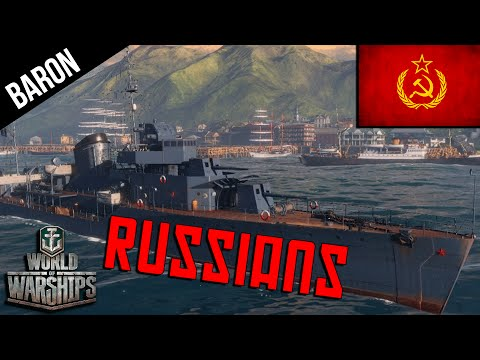 World of Warships Russian Navy - Aurora, Gremyaschiy & Murmansk - Russian Premiums