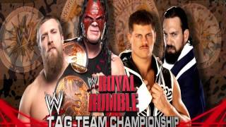 WWE Royal Rumble 2013 Match Card