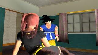 Cj se va de campamento con Goku - GTA San Andreas Loquendo