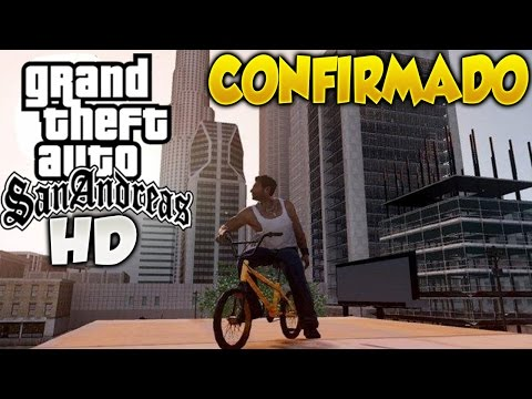 Confirmado GTA San Andreas Remasterizado en HD Grand Theft Auto San Andreas HD