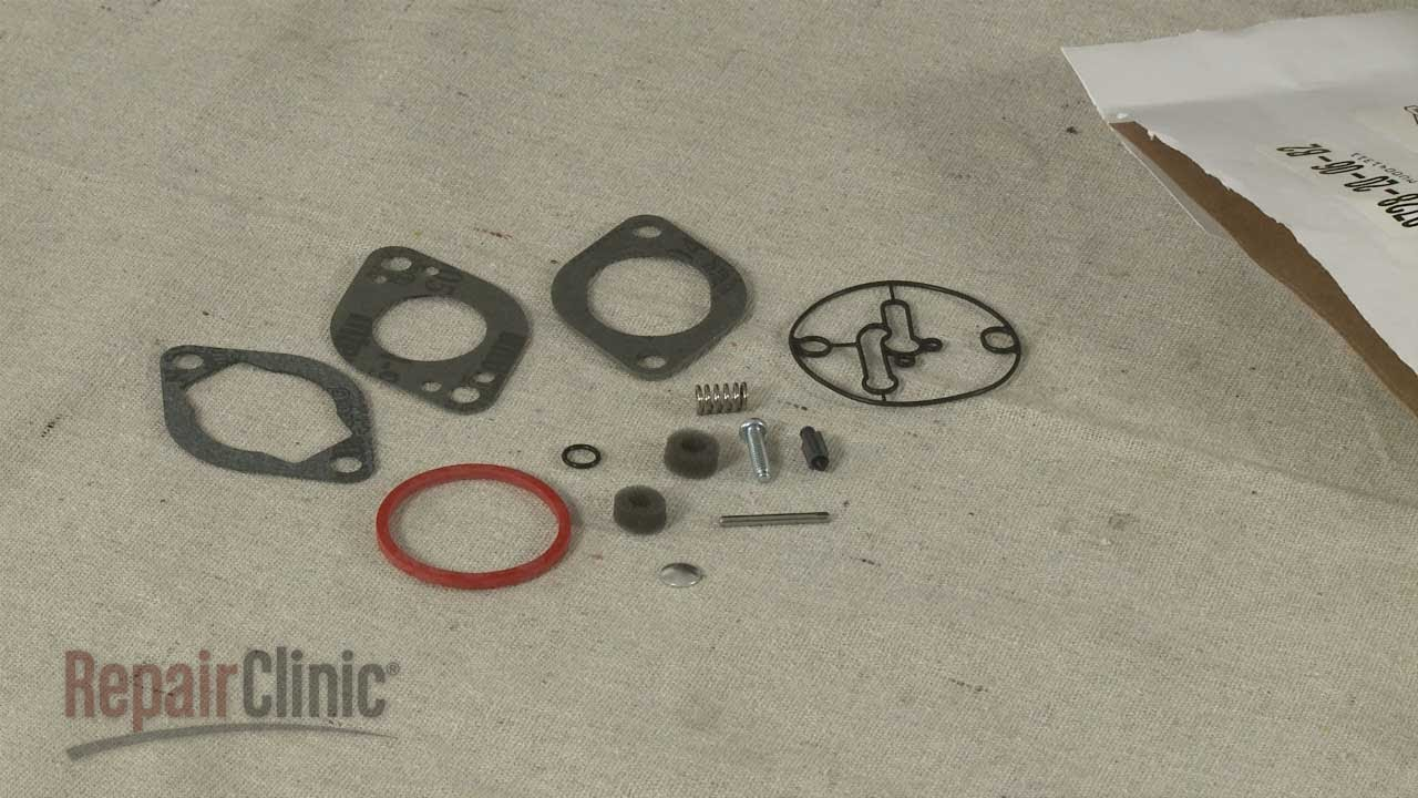 Generator Engine Carburetor Rebuild Kit Briggs