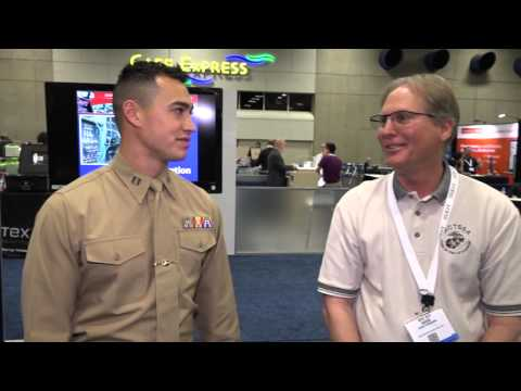 Booth Demo: Marine Corps Tactical Systems Support Activity (MCTSSA) at WEST 2016