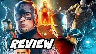 Avengers Endgame Review NO SPOILERS