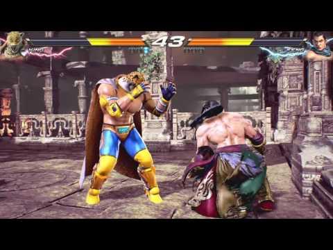 Tekken 7 -  E3 2016 Gameplay #1