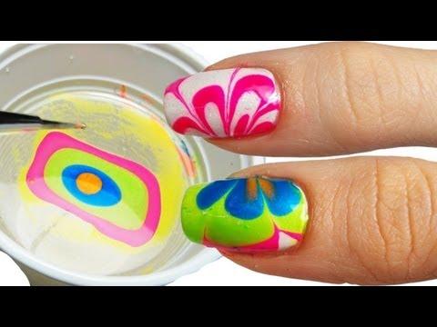 Come Fare la Water Marble Nail Art