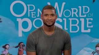 """BIGGERTHAN WORDS"": a Live Webcast with Usher"