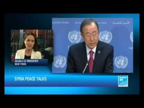 Syria peace talks in Geneva on January 22 next year