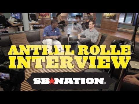 Interview with Giants Safety Antrel Rolle