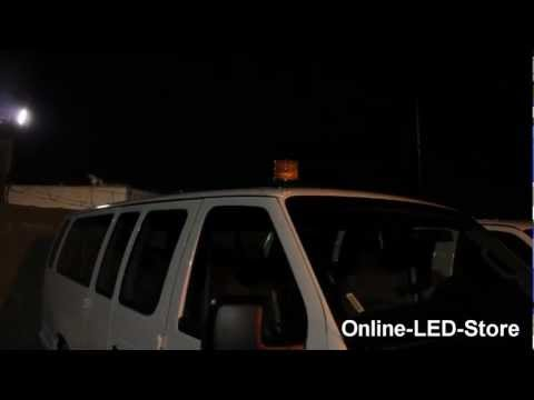 LAMPHUS® AURA™ 6W Emergency Vehicle Strobe Warning LED Beacon Light Teaser