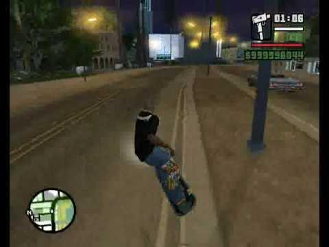 GTA San Andreas Hover Board Fun